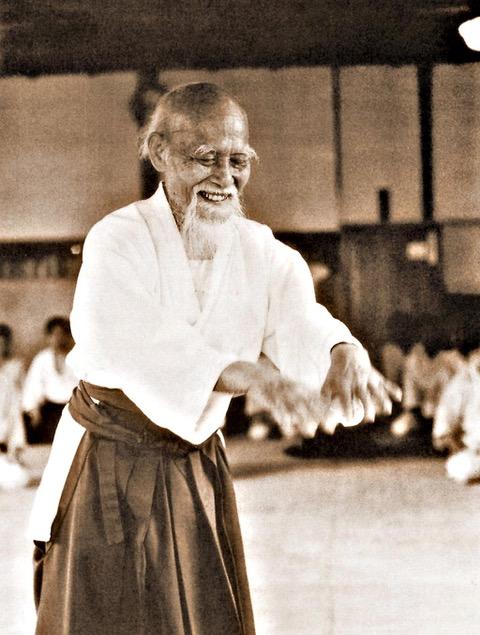 Morihei Ueshiba, Aikido